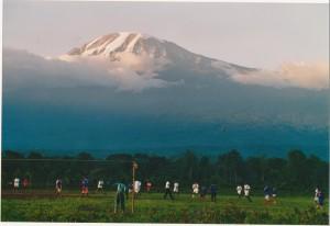 Kilimandscharo von Tanzania aus.